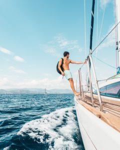 Segeln im Sommerurlaub